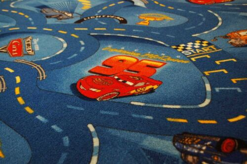 Enfants Cars Routes Tapis Bleu 200x270 cm Disney/'s Cars