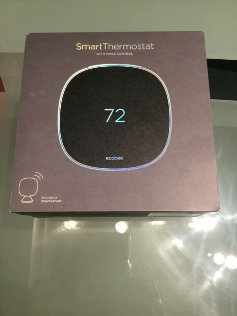 Ecobee 5th Generation SmartThermostat Wi-Fi .Thermostat with Voice Alexa