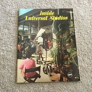Vintage 1971 Universal Studios Hollywood Inside the Studio Souvenir Book