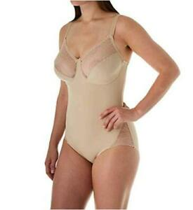 Miraclesuit Shapewear Women's Back Magic Extra Firm BodyBriefer, Nude, Size 40DD