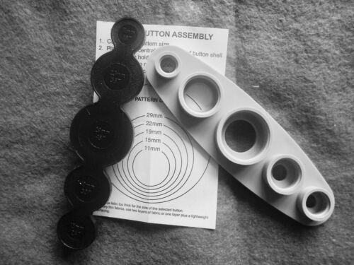 29 mm Auto Housse Bouton en Métal Montage outil 23 mm Tailles: 11 mm 15 mm 19 mm