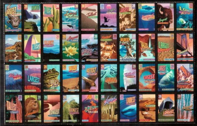 USA 2006 MINT MUH PANE OF 40 SELF-ADHESIVE STAMPS #4072a, WONDERS OF AMERICA !!
