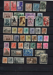 46-timbres-Italie-annees-1953-54