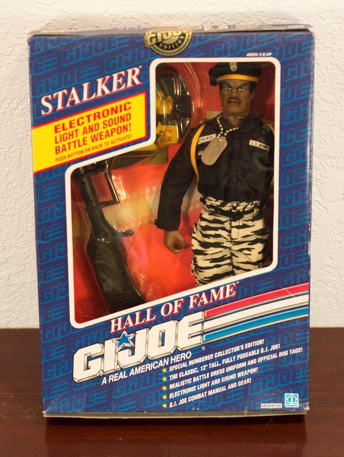 1991 Gi Joe Hall of Fame Stalker Figura de Acción Sin Usar, En Caja