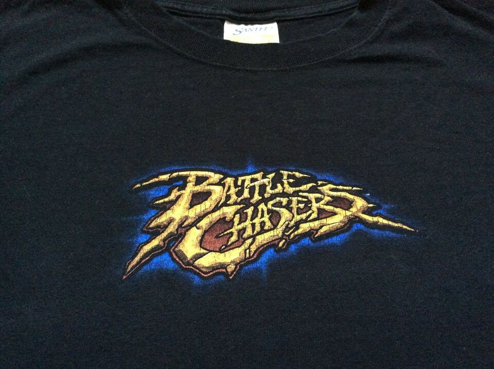 Battle Chasers T-shirt Vintage, Joe Mad (Madureira),