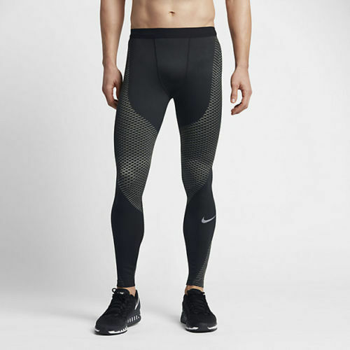 NIKE ZONAL STRENGTH RUNNING TIGHTS - schwarz   grau -    - S, M, XL