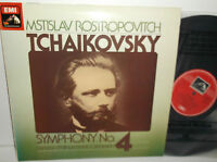 ASD 3647 Tchaikovsky Symphony No.4 London Philharmonic Orc Mstislav Rostropovich