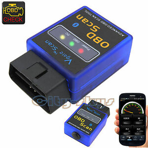 wireless bluetooth obd2 elm327 car scanner auto scan ecu. Black Bedroom Furniture Sets. Home Design Ideas