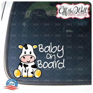 Adorable Calf   Neutral, Boy or Girl   BABY ON BOARD   Awareness Warning Sign