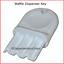 Universal-034-Waffle-Key-034-for-Paper-Towel-amp-Toilet-Tissue-Dispensers-12-pk thumbnail 2