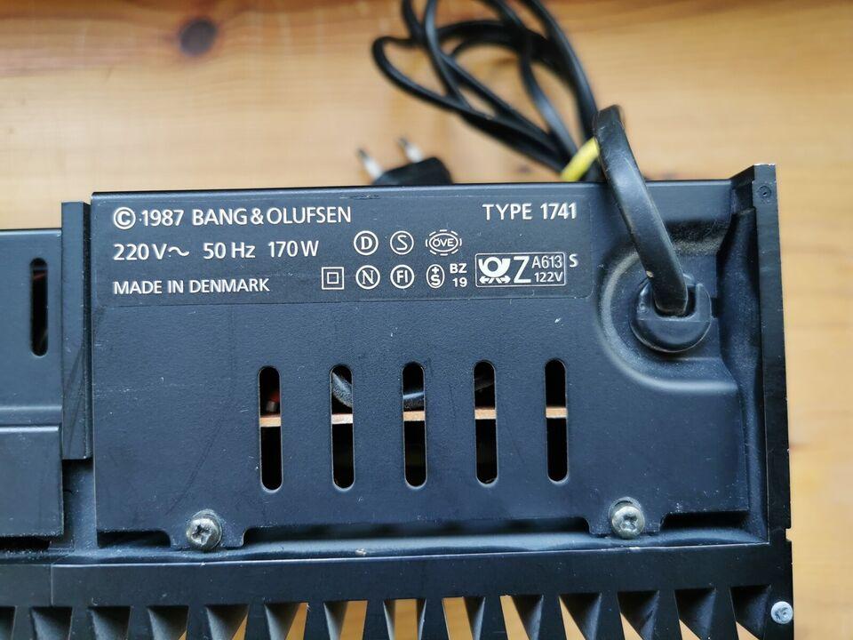 Stereoanlæg , Bang & Olufsen, B&O MCL 2P Effektforstærker