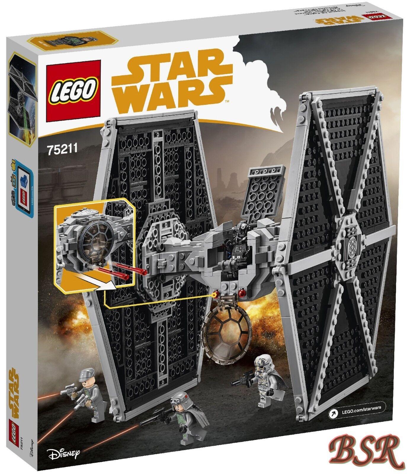 LEGO ® Star Wars Wars Wars ™: 75211 Imperial TIE Fighter ™ & 0. -€ expédition & NOUVEAU & NEUF dans sa boîte! 027d5c