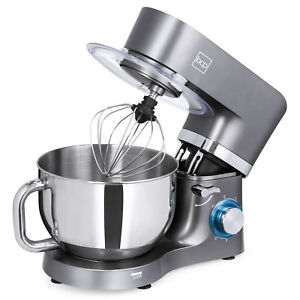 Details about BCP 660W 6-Speed 6.3qt Stainless Steel Kitchen Stand Mixer w/  3 Attachments