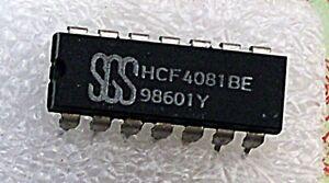 CIRCUIT INTEGRE   HCF4081BE