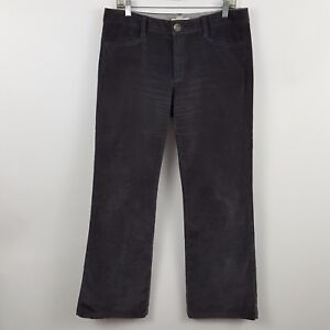 Banana Republic Relaxed Fit Gray / Charcoal Corduroys Women's Pants 30 - 34x30