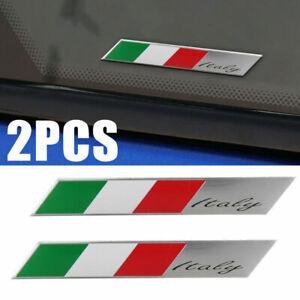 2pcs-3D-Metal-Italy-Italian-Flag-Logo-Car-Emblem-Rear-Badge-Side-Sticker-Decal