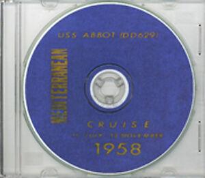 USS Intrepid CVA 11 1958 CRUISE BOOK CD  RARE US Navy