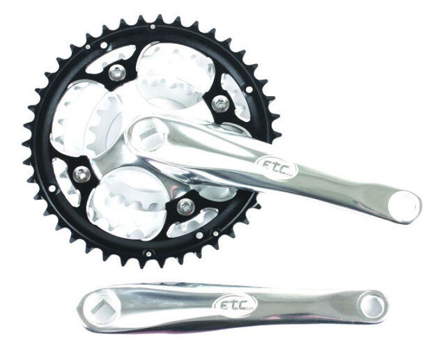 BIKE BICYCLE CYCLE ALLOY CHAINSET 42/32/22T