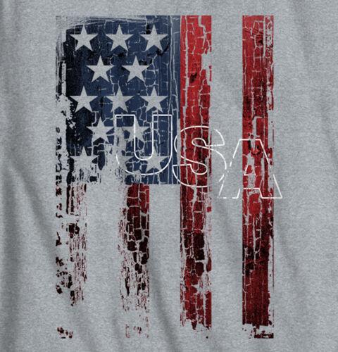 USA T Shirt USA Flag Eagle Patriotic Pride Mens Gift Ideas Junior V-Neck Tee