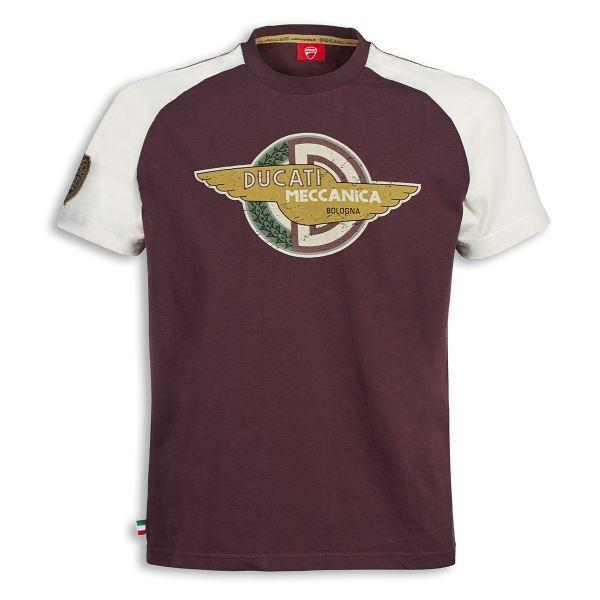 Herren Ducati Meccanica Wings T-Shirt