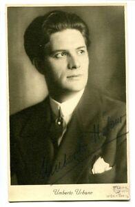 UMBERTO-URBANO-orig-Autogramm-autograph-signed
