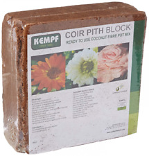 Compressed Coco Fiber Growing Potting Mix 10-Pound Block Medium