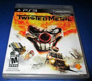 Twisted-Metal-Sony-PlayStation-3-Factory-Sealed-Free-Shipping