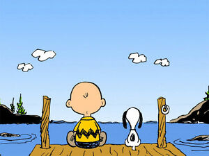 80ddde05a517f5 Image is loading Snoopy-Charlie-Brown-Peanuts-Canvas-Art-Print
