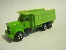 Green Heavy Duty Dump Triuck, unknown brand or make (EB20-18)