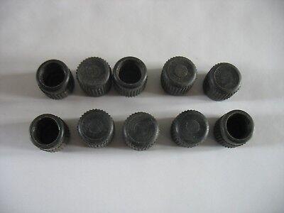 "L//10 R12 R22 A//C Service Port Caps 3//8/"" Fitting W//Internal O-ring SANTECH"