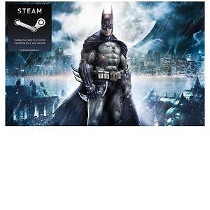 SALE-BATMAN-ARKHAM-ASYLUM-GOTY-Global-Steam-Account-PC-bonus-of-51-games-FREE