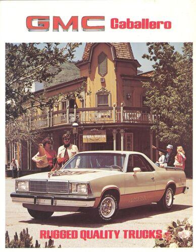Caballero//Laredo//Diablo 1980 GMC Caballero Brochure