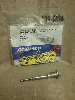 ACDelco 18H1188 Professional Rear Disc Brake Caliper Bolt Kit with Pins and Bolt