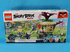 Lego Angry Birds 75823 Bird Island Egg Heist 277pcs New Sealed 2016