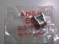 3//4 pitch x 1//2 Width 02-196 Oregon ANSI #60 Roller Chain Master Link
