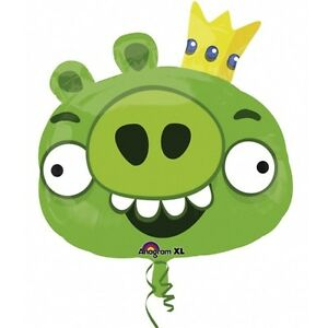 ANGRY-BIRDS-BALLOON-23-034-GREEN-ANGRY-BIRDS-PARTY-SUPPLIES-ANAGRAM-FOIL-BALLOON