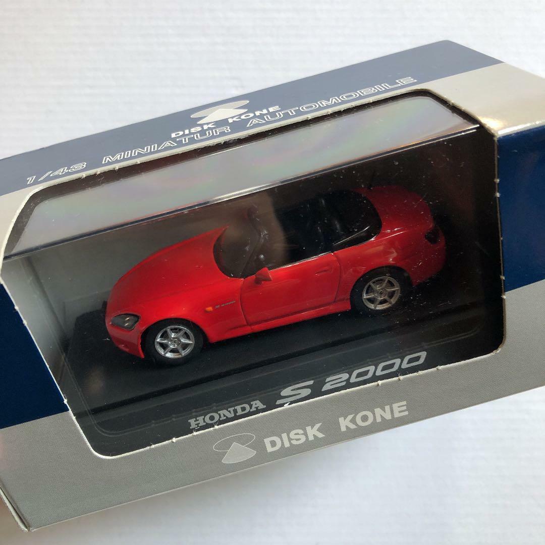 DISCO KONE 143 HONDA S2000 Rosso MINIauto