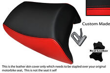 BLACK & BRIGHT RED CUSTOM FITS SUZUKI GSF 1250 07-12 BANDIT REAR SEAT COVER