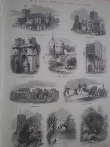 Vistas-de-Brighton-y-Sussex-1872-Old-impresiones-mi-ref-S