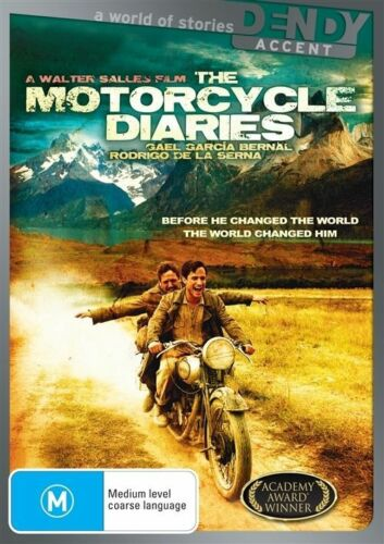 1 of 1 - Motorcycle Diaries (DVD, 2009) R4 SPANISH WITH ENGLISH SUBTITLES EXCELLENT COND.
