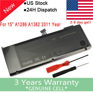 77-5WH-A1382-Battery-For-Apple-MacBook-Pro-15-034-A1286-Early-Late-2011-Mid-2012-F