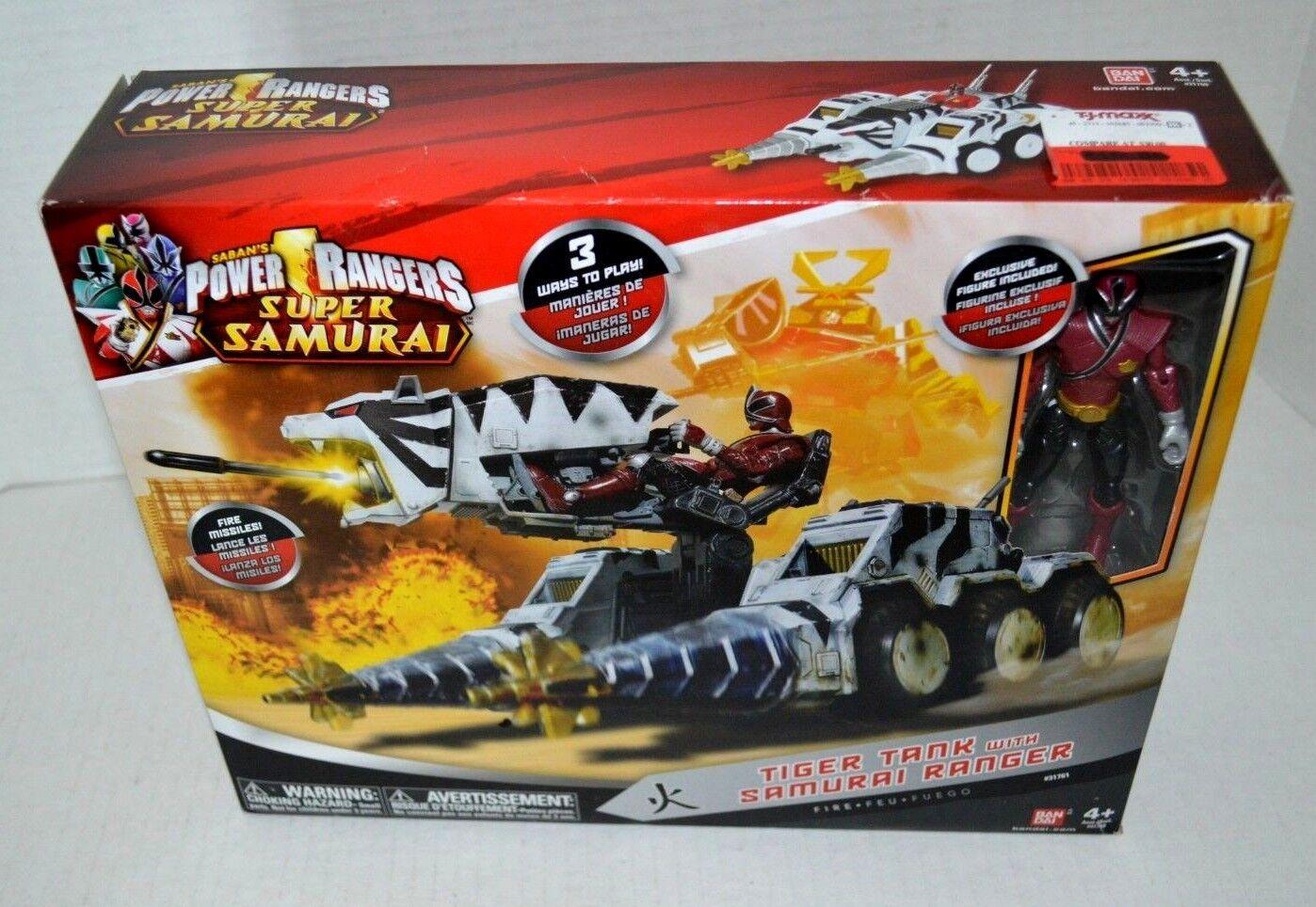 Power Rangers Super Samurai TIGER TANK Megazord Vehicle Action Figure with Box