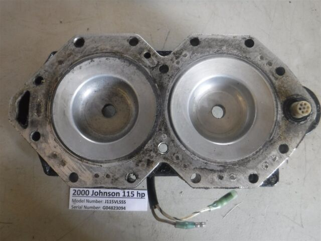 2002 Johnson OUTBOARD 115 HP Cylinder Head 0335810