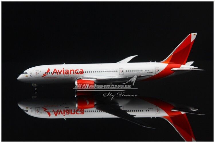 1 400 Phoenix Avianca BOEING 787-8 Passenger Airplane Diecast Aircraft Model