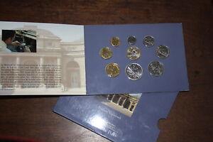 -rare- Coffret 9 Pièces Série Bu - France 1991 - Monnaie De Paris