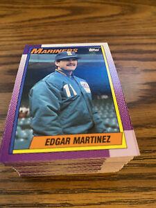 (90) 1990 Topps #148 Edgar Martinez Seattle Mariners NM-MT+ Lot