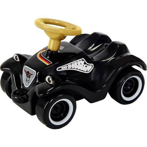 Macchina a spinta per bambini big mini bobby car german fanedition nero