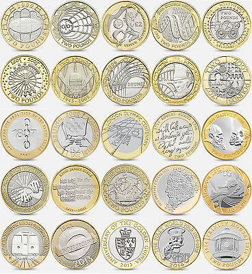 Rare and Commemorative Coin Hunt £2 Two Pound Coins