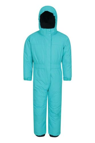 Mountain Warehouse Girls Snowsuits with Fleece Lined and Ski Boot Compatible