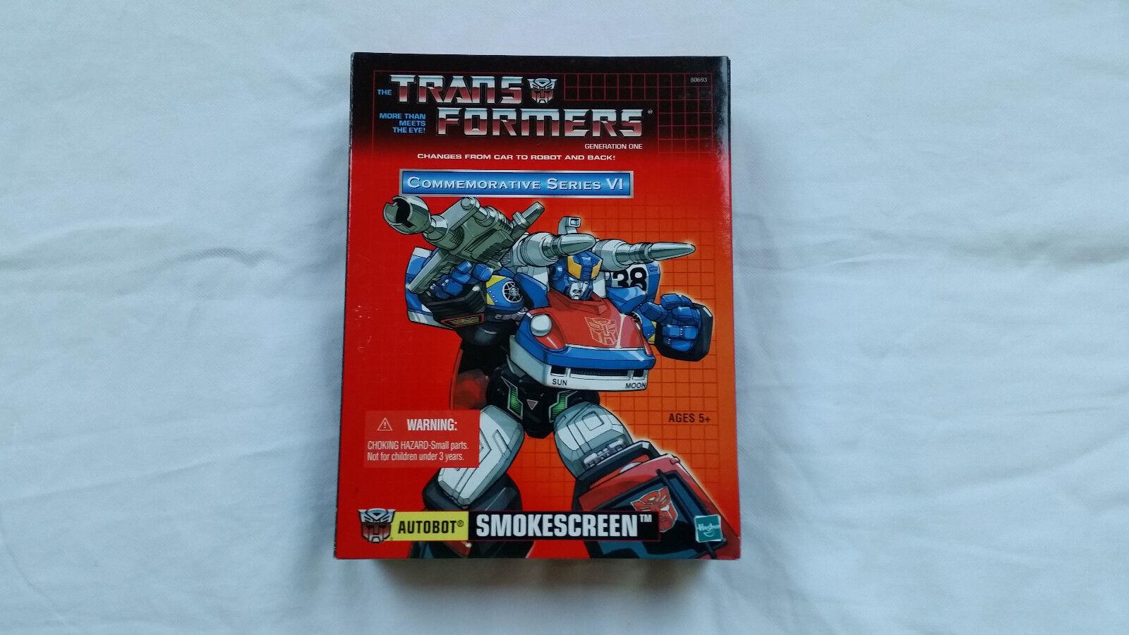Transformers Reedición cortina de humo y en Caja Sellada